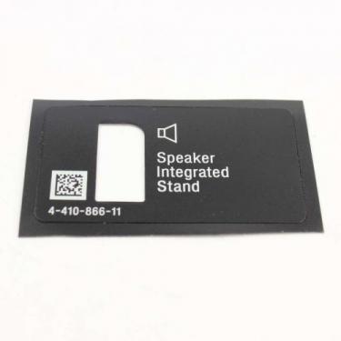 Sony 4-410-866-11 Label, Rear Terminal Left