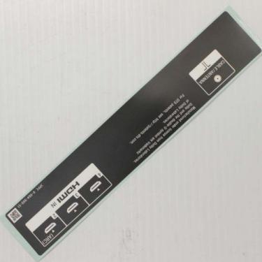 Sony 4-484-999-51 Label, Under Terminal