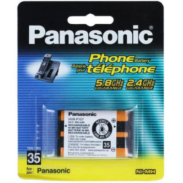 Panasonic HHR-P107A Battery-Rechargeable; Ni-