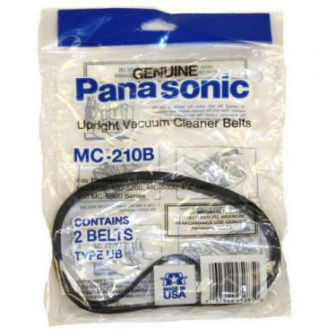 Panasonic MC-210B Belt, Upright, Ub, 2 Pk