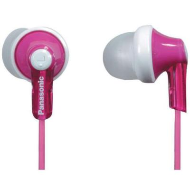 Panasonic RP-HJE120-P Ear Buds-Pink